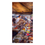 Storefront - The open air Tea & Spice market Photo Card Template