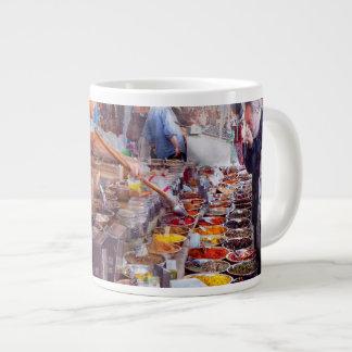 Storefront - The open air Tea & Spice market 20 Oz Large Ceramic Coffee Mug