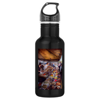Storefront - The open air Tea & Spice market Water Bottle
