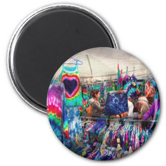 Storefront - Tie Dye is back 2 Inch Round Magnet