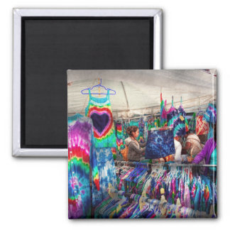 Storefront - Tie Dye is back 2 Inch Square Magnet