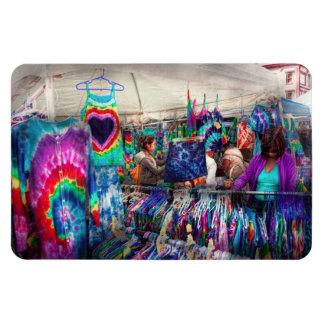 Storefront - Tie Dye is back Rectangular Photo Magnet