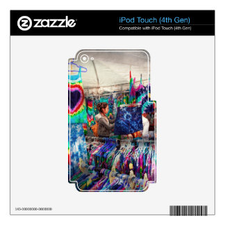 Storefront - Tie Dye is back Skin For iPod Touch 4G