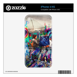 Storefront - Tie Dye is back Skin For The iPhone 4