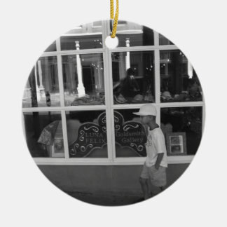 Storefront Window Ceramic Ornament
