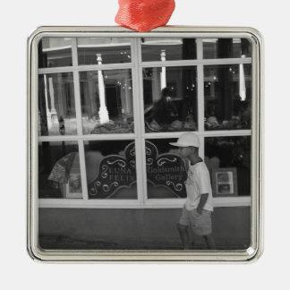Storefront Window Metal Ornament