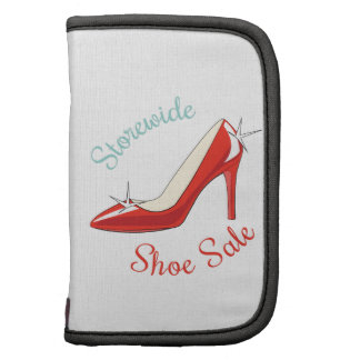 Storewide Shoe Sale Folio Planners