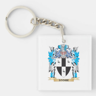 Storie Coat of Arms - Family Crest Square Acrylic Key Chain