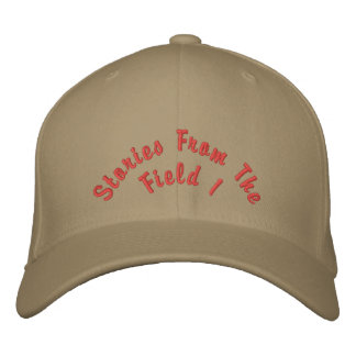 Stories from the field 1 Author Richard Schamber Embroidered Hats
