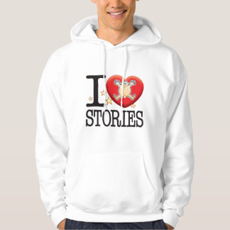 Stories Love Man Hooded Pullovers