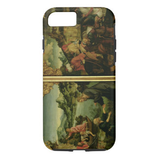 Stories of S.S. Peter and Paul altarpiece: detail iPhone 8/7 Case