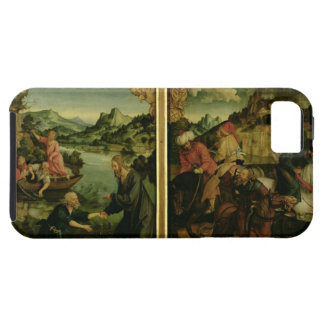 Stories of S.S. Peter and Paul altarpiece: detail iPhone SE/5/5s Case