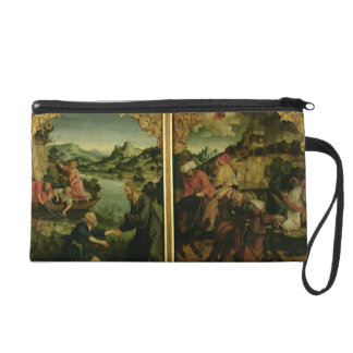 Stories of S.S. Peter and Paul altarpiece: detail Wristlet