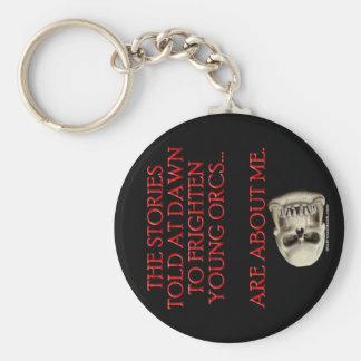 Stories Told to Frighten Young Orcs Keychain