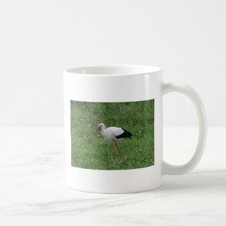 Stork 2 classic white coffee mug