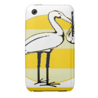 Stork and Baby Bundle iPhone 3 Case-Mate Case