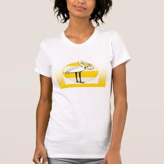 Stork and Baby Bundle T-Shirt