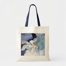 Stork And Baby Tote Bag at Zazzle