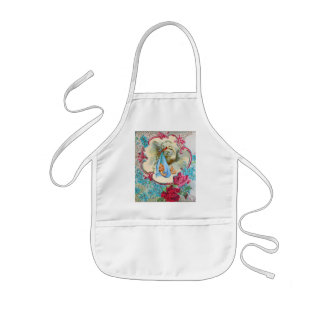 STORK BABY BOY SHOWER KIDS' APRON