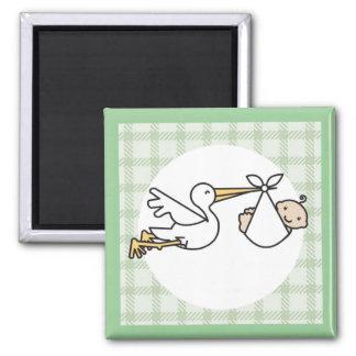 Stork Baby Delivery Magnet