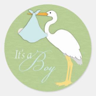 Stork Boy Sticker