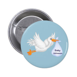 Stork Buttons For Boys