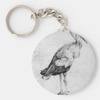 Stork by Albrecht Durer Keychain