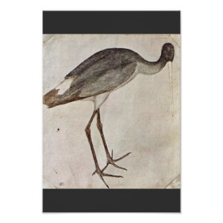 Stork By Pisanello (Best Quality) Poster