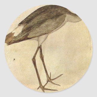 Stork by Pisanello Classic Round Sticker