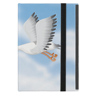 Stork carrying new born Baby Case For iPad Mini