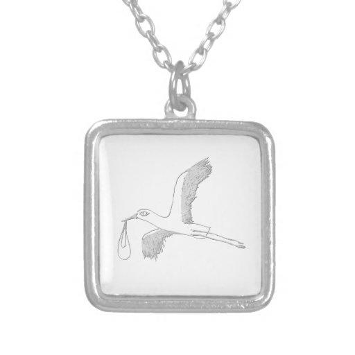 stork colgante cuadrado