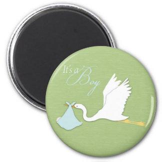 Stork Delivers Boy Magnet