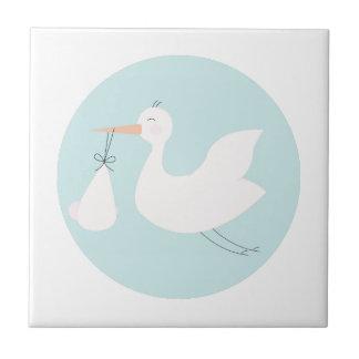 Stork Delivery Ceramic Tiles