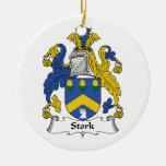 Stork Family Crest Ornament