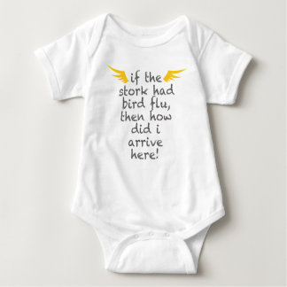 Stork Flew over Here T-shirt