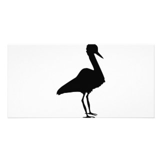 stork icon card