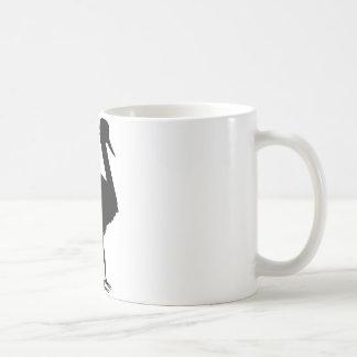 stork icon coffee mug