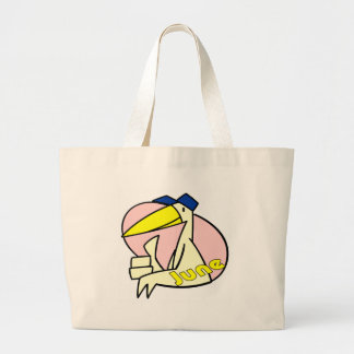 Stork June Due Date Tote Bag