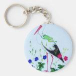 stork keychain