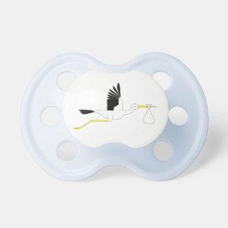 Stork Logo Pacifier