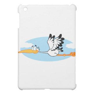Stork Mascot Cartoon Character iPad Mini Case