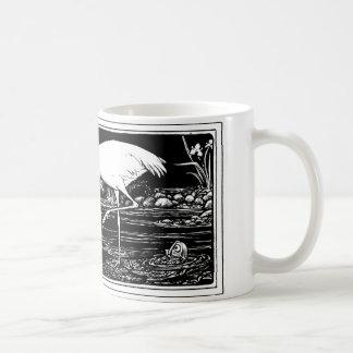 Stork Classic White Coffee Mug