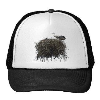 stork nest trucker hat