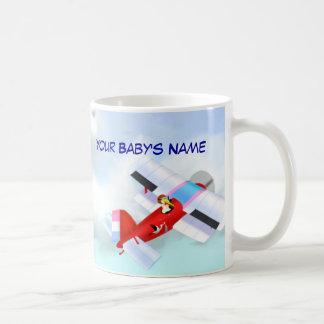 Stork Plane Mug