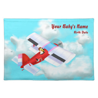 Stork Plane Placemat