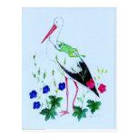 stork postcards
