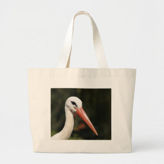 Stork - symbol of Strasbourg and Alsace, France Bags