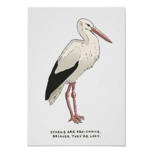 stork trivia poster