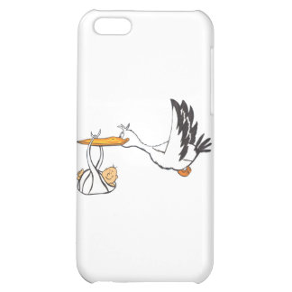 Stork with Baby - Gift for Parents to be iPhone 5C Cases