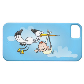Stork with baby iPhone SE/5/5s case